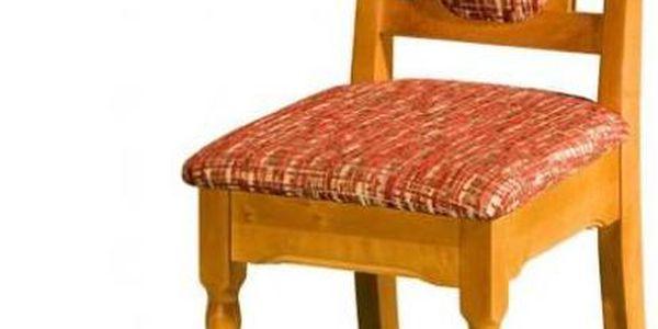 Výprodej - Jídelní židle Monika - čalounění bahama 08