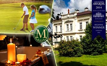 Golf, wellness a polopenze v hotelu Morris