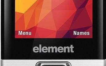 Mobilní telefon Sencor Element P020 Silver