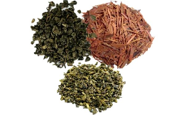 Trojkombinace sypaných čajů - 2 varianty