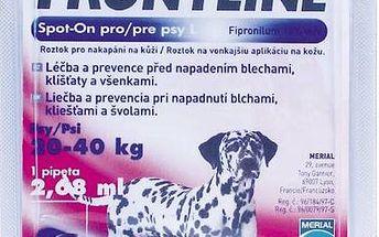 Pipeta Frontline Spot - On Dog L 1 x 2,68 ml (pes 20 - 40kg) fialová