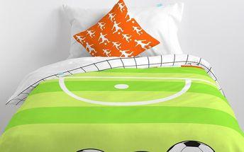 Mr. FOX Dětské povlečení Football, 140x200 cm