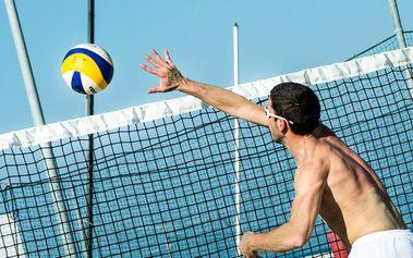 Dvě hodiny beach volejbalu včetně zázemí za exkluzivních 200 Kč! Praha 4 Chodov
