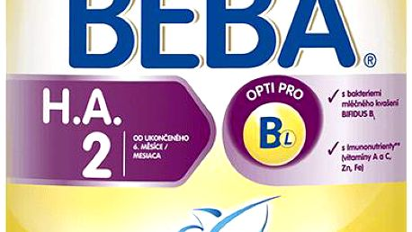 NESTLÉ Beba HA 2 Protect plus (800 g) - kojenecké mléko