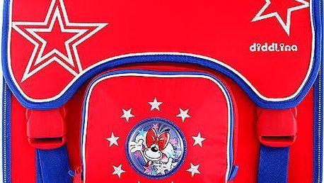 Diddl & Friends Školní aktovka Diddlina Aktovka classic Stars, Diddlina
