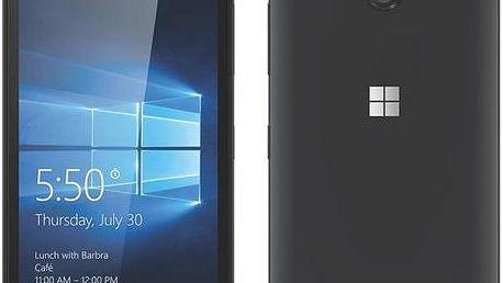 Microsoft Lumia 550 (A00026251) černý + dárek Voucher na skin Skinzone pro Mobil CZ + Doprava zdarma