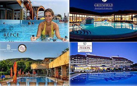 Letní prázdniny v maďarských lázních ve vybraných TOP hotelech s polopenzí a neomezeným wellness