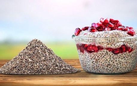 Pořádná dávka zázračných chia semínek