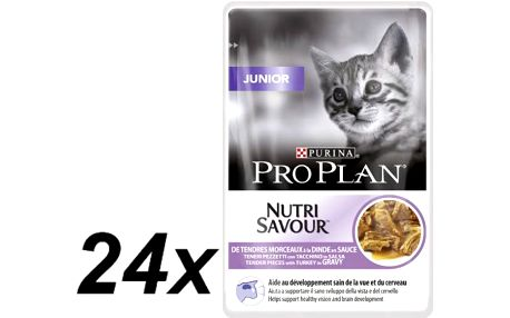 Purina Pro Plan CAT JUNIOR Krůta kapsička 24x85g