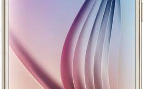 Samsung G920 Galaxy S6 64GB Platinum Gold (SM-G920FZDEETL)ZDARMA nabíječka do vozu ,ZDARMA hra-stolní fotbálek ,ZDARMA Samsung R322 Gear VR v ceně 3490Kč, na splátky od 1499 Kč měsíčně