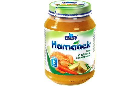 Hamánek Kuře se zeleninou a bramborem 6x190g