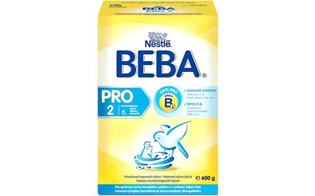 NESTLÉ Beba 2 PRO (600 g) - kojenecké mléko