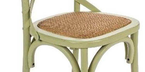 Židle Cross, zelená - doprava zdarma!