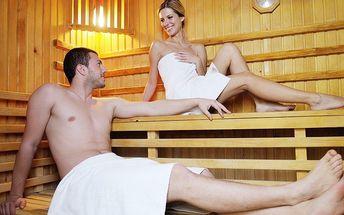 Privátní sauna s vonnými esencemi pro 2 osoby