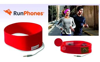 AcousticSheep RunPhones® Classic Red S RC2RS