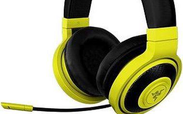 Razer Kraken Pro Neon Yellow (RZ04-00871000-R3M1) + ZDARMA v hodnotě 300,- Digitální předplatné LEVEL - tříměsíční předplatné