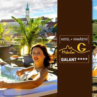 Léto v Hotelu Galant**** s volným vstupem do špičkového wellness centra + dítě do 10 let zdarma
