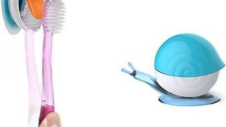Šnek - držák na zubní kartáček