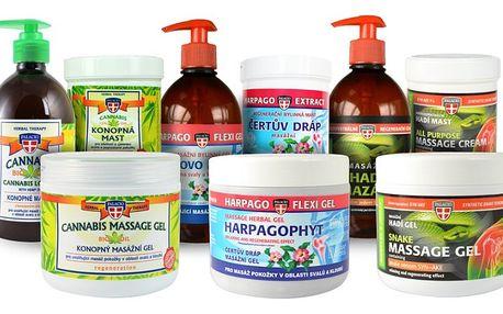 PALACIO Sada masážní kosmetiky, 9ks - 3x masáž. gel, 3x mazání, 3x mast
