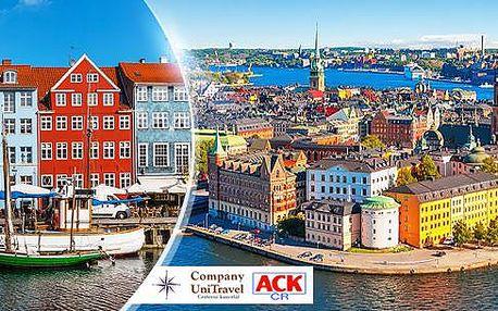Skandinávie - Kodaň, Oslo, Göteborg! 5 denní poznávací zájezd pro 1 osobu. Doprava, průvodce, ubytování, snídaně.