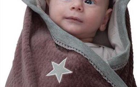 Lodger Zavinovačka/hrací deka Wrapper Newborn Cotton Cowboy