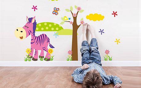 Veselá zebra 45 x 30 cm