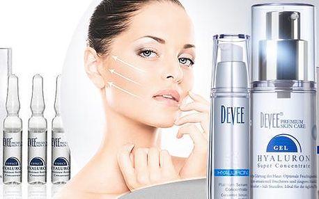 Kyselina hyaluronová! Kosmetika s její vysokou koncentrací - gel, ampule, oční lifting, tělové mléko, sérum, krém s oleji!