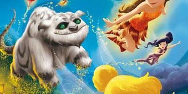 Disney Víly - Zvonilka - Tvor Netvor - Omalovánky A4