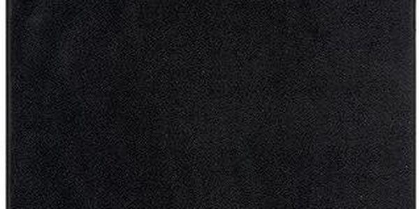 Florentyna Ručník Fiora černá, 30 x 50 cm, 30 x 50 cm