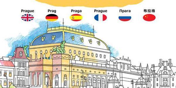Praha - Antistresové omalovánky
