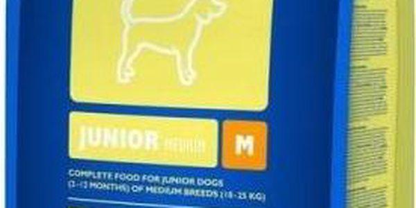 Brit Premium Dog Junior M 15 kg + Doprava zdarma