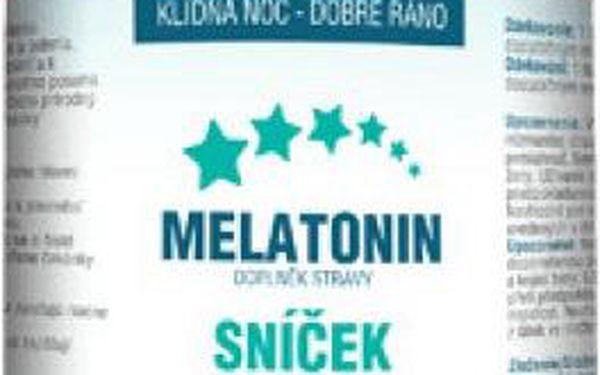 Aurum Melatonin pro zlepšení kvality spánku 100 tbl.