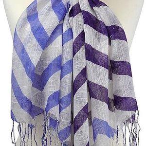 Šátek Alma Blue and Purple