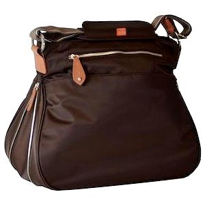 PacaPod PORTLAND hnědá - kabelka i přebalovací taška