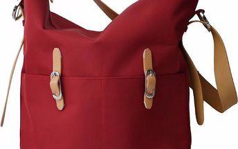 PacaPod IDAHO červená - kabelka i přebalovací taška