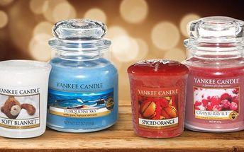 Svíčky Yankee Candle