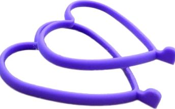 Silikonová formička na volská oka - srdce