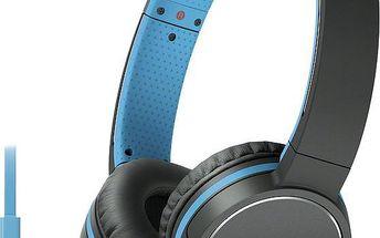 Sony MDR-ZX660AP, modrá - MDRZX660APL.CE7