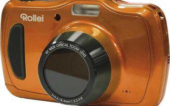 Rollei Sportsline 100, voděodolný, oranžová - 10054