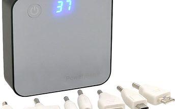 REMAX powerbank VEGA AA-900, 6000 mAh, různé koncovky, modrá