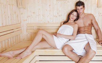 Privátní sauna pro dva včetně vstupu do fitka