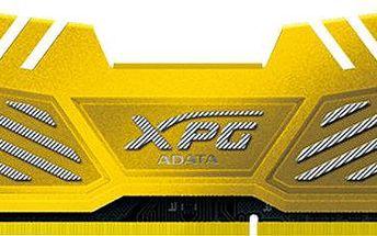 ADATA XPG V2 8GB (2x4GB) DDR3 1866 CL10, zlatá CL 10 - AX3U1866W4G10-DGV