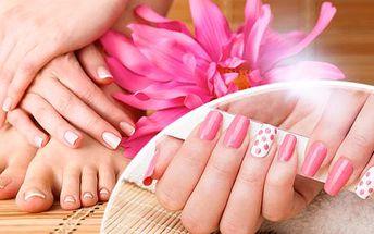 Kompletní profesionální péče o vaše ruce a nohy - manikúra či pedikúra s možností gel laku i akrylové nehty v Ostravě!