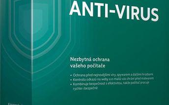 Kaspersky Anti-Virus 2015/2016 CZ, 3PC, 1 rok, box - KL1161OBCFS-MCZ