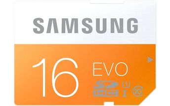 Samsung SDHC EVO 16GB Class 10 UHS-I - MB-SP16D/EU