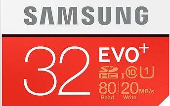 Samsung SDHC EVO+ 32GB Class 10 UHS-I - MB-SC32D/EU