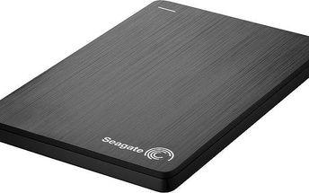 Seagate Slim Portable - 500GB, černá - STCD500202