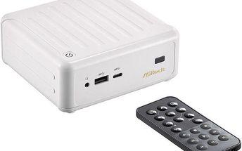 ASRock Beebox /N3000/bez DDR3L/bez mSATA/Bez OS, bílá - BEEBOX N3000/W/BB