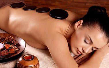 60minutová masáž zad a šíje s vonným olejem