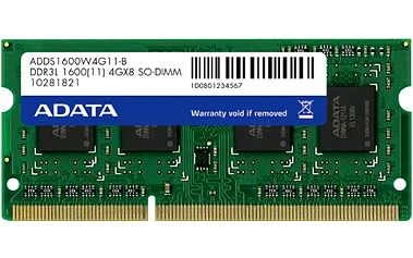 ADATA Premier 4GB DDR3 1600 CL 11 - ADDS1600W4G11-S